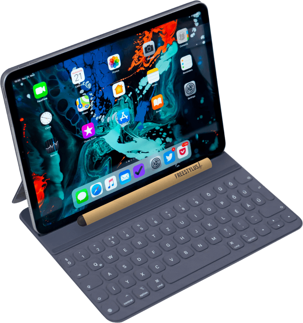 Tablet with Stylus